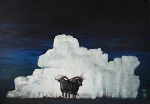 Patrick Delaunay huile sur toile 81x116cm