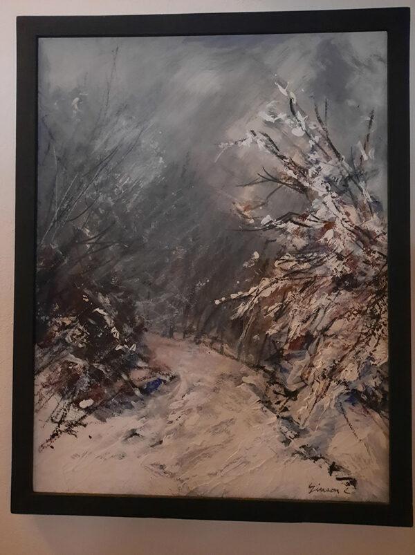 Paysage hiver (Simon C.)