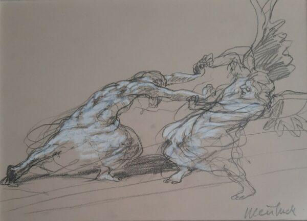 Duel avec l'ange (Claude Weisbuch)