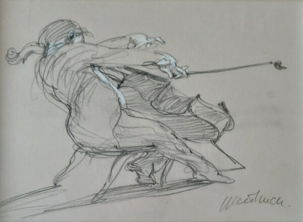 Le violoncelliste (Claude Weisbuch)