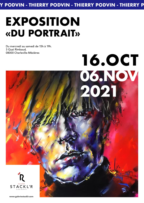 Exposition Du portrait - Thierry Podvin